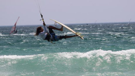 TARIFA STRAPLESS KITESURFING PRO 2ND DAY